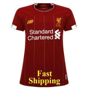 Liverpool FC Women Soccer Home Jersey 2019/2020